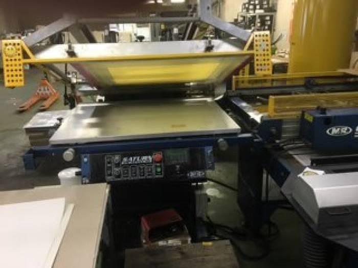 Used MandR Saturn Platinum with UV VITRON II dryer | 2011