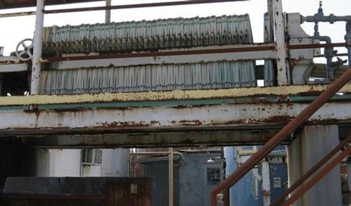 Used 58 CU. FT. SHRIVER FILTER PRESS – 1066 MM – NON-GASKETED