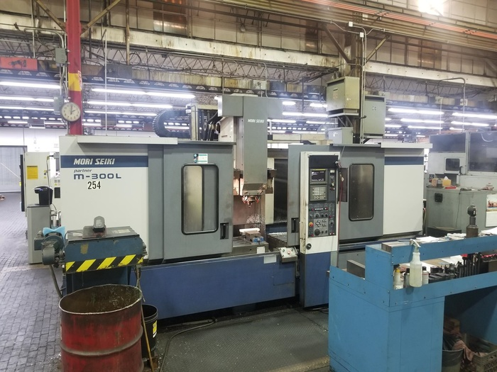 1998 Mori Seiki Mori Seiki M-300L2 (Partner) CNC Vertical Machining Center