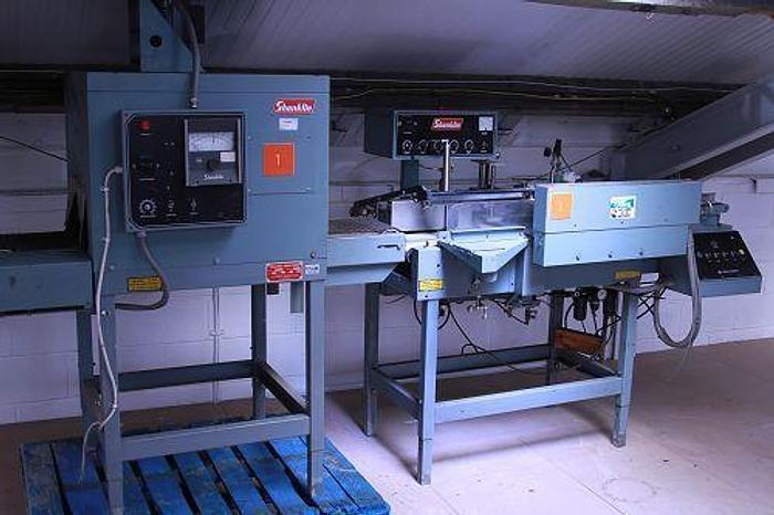 Used Shanklin A23 Shrink Wrapping Machine & T6 Heat Tunnel