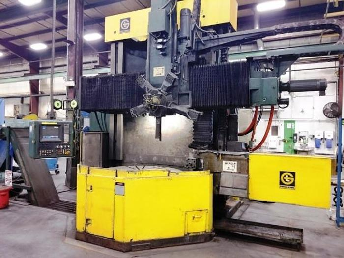 "Used GIDDINGS & LEWIS  60"" CNC VTL"