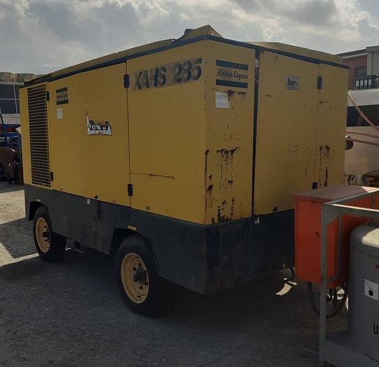 Usata Motocompressore, ATLAS COPCO modello XAHS 285