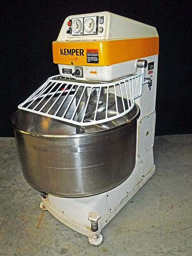 Used USED KEMPER SP 75 LOEM SPIRAL MIXER WITH BOWL GUARD