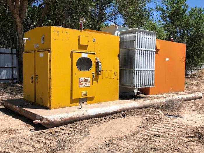 HB18250 Atkinson skid mounted substation 25000 to 8000 volt transformer