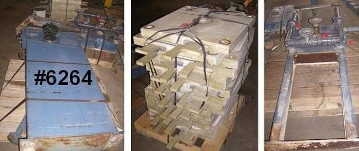 Used 4.5 CU. FT. FILTRATEC FILTER PRESS – POLYPRO. – 630 MM – C.G.R.