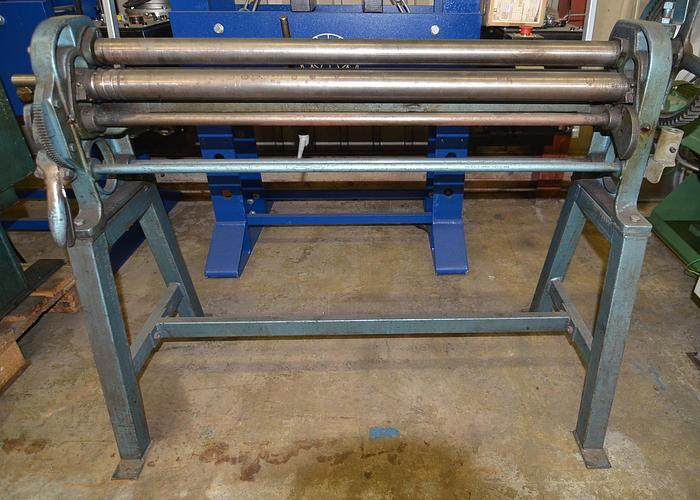 Used D27 - Plate Rolling Machine
