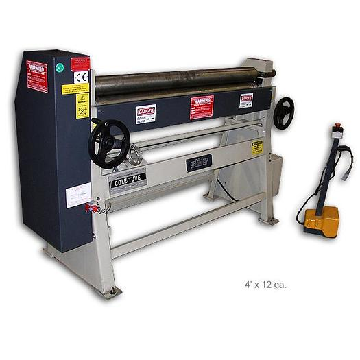 COLE-TUVE 3 Roll Initial-Pinch Plate Bending Slip Roll MSM 1270-90
