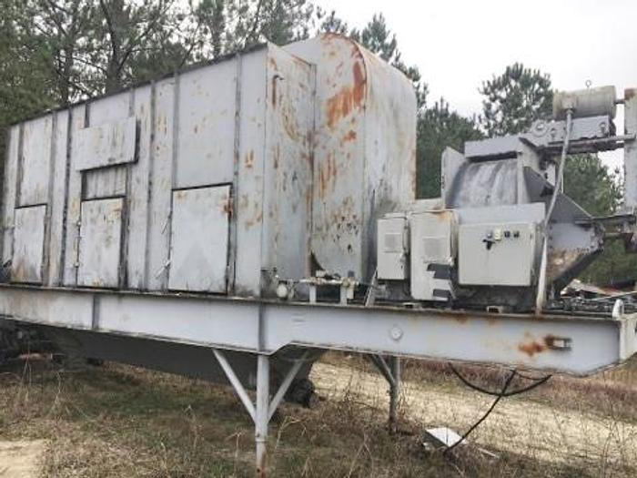 Used Large Capacity Mobile Central Dust Collector