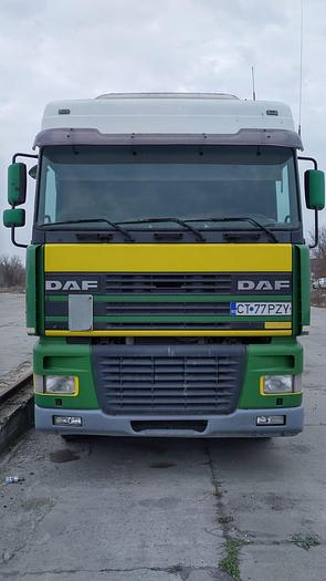 2001 DAF 95 XF 480 euro 3 manual