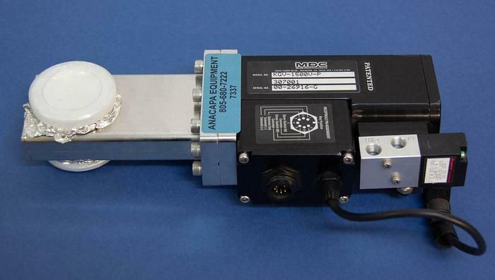Used MDC Pneumatic Gate Valve KGV-1500V-P 307001 USED (7337)R