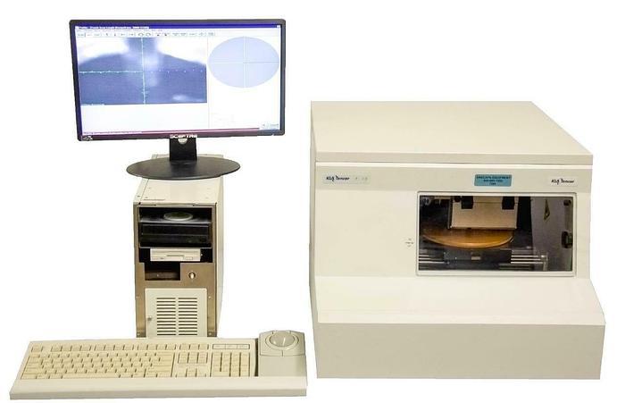 Used KLA Tencor P-15 Wafer Surface Profiler Profilometer w/ Computer USED (7289)R