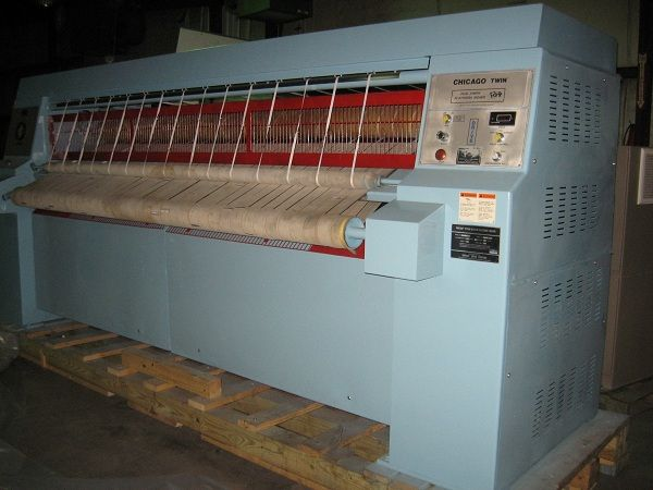 "1990 Chicago 2 roll 24"" x 120"" steam ironer"