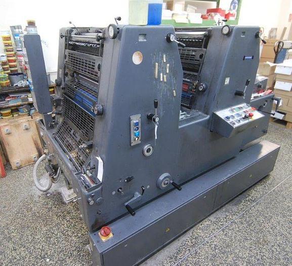 Gebraucht Heidelberg Bogenoffset-Druckmaschine GTOZ, 1995, #1265832