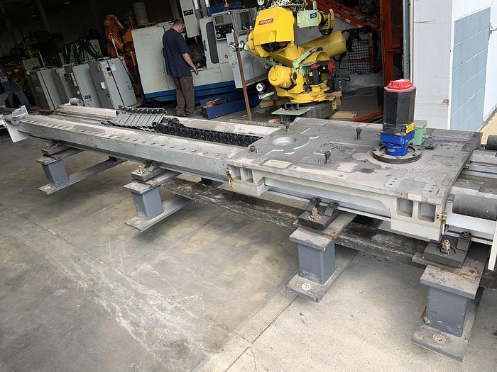 FANUC RTU-1000 7TH AXIS ROBOT TRACK 700KG X 13' TRAVEL
