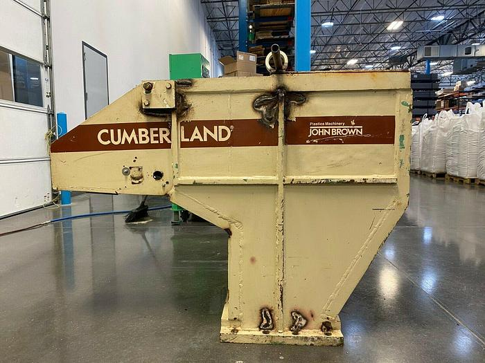 Used CUMBERLAND 15 X 24 GRANULATOR 50 HP