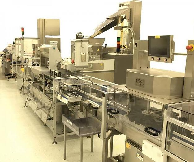 Used I 14173 D - Tablet / Capsule Counting Filling and Closing Line IMA SWIFTPACK