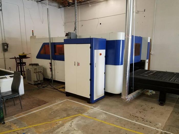 CNC Warehouse  laser cutting
