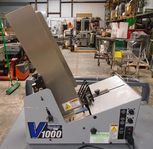 """Used StreamFeeder V-1000 12"""" High Speed Continuous Feeder"""