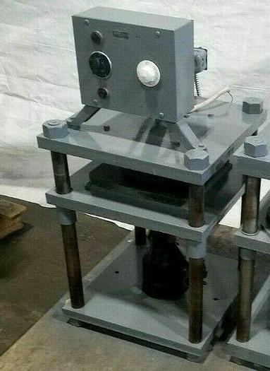 """Used 12"""" Rubber Mold Vulcanizer for spin casting molds"""