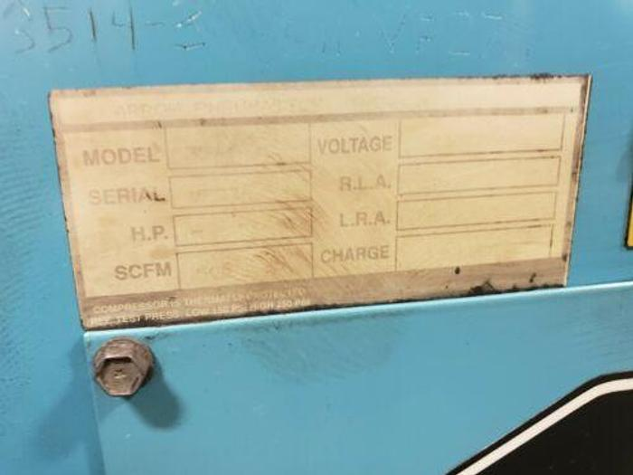 ARROW 500 CFM AIR DRYER FOR 100 HP COMPRESSOR