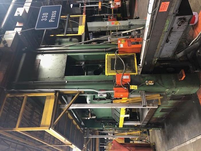 Used 600 TON PACIFIC HYDRAULIC PRESS