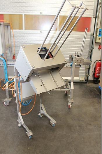 Gebraucht Tray - Entstapelungssystem & Portionierband, Fabrikat Kessen, Typ EFS & SBV, Bj. 2013
