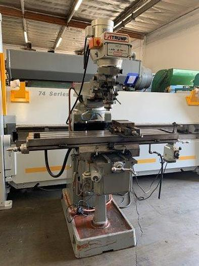 """Used K3V, ATRUMP, 11"""" x 58"""" TABLE, 3 HP, R8 SPINDLE [5386]"""