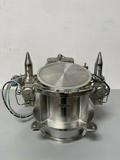 Used Glatt Stainless Steel 250-A-057 Fluid Bed System Powder Dispenser