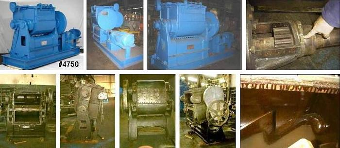 Used 100 GALLON BAKER PERKINS DOUBLE ARM MIXERS – C/S – JACKETED – TILT – (18)