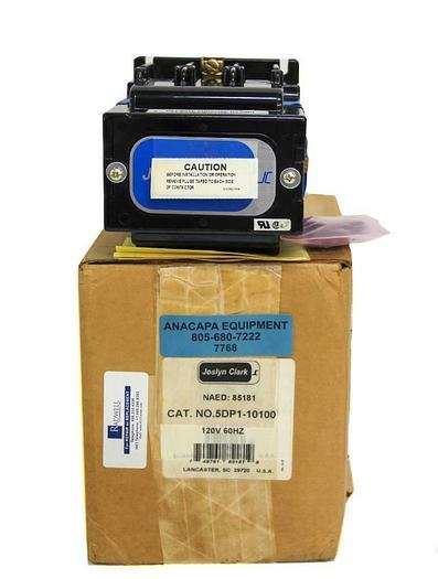 Joslyn Clark 5DP1-10100 DC Drive Contactors, 5DP Series 500 Volt DC, NEW (7768)W