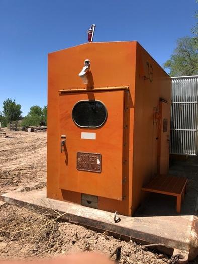 HB18250 Atkinson skid mounted substation 25000 to 8000 volt transfo