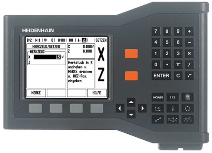"New 12"" x 30"" Heidenhain ND500 Series 2 Axes Digital Readout Kit for Milling Machine 1380"