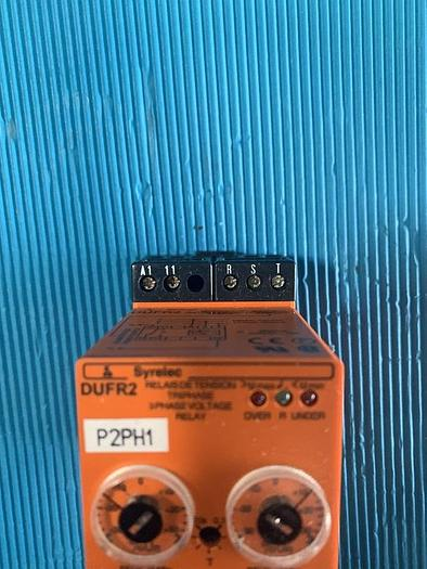 Used Syrelec 3 Phase Voltage Relay