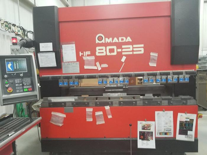 2001 88 Ton Amada HFE 80-25S CNC Press Brake