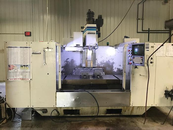 1990 FADAL VMC 6030 with 4th Axis - Video