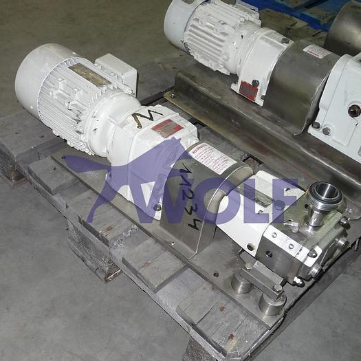 Gebraucht gebr. Edelstahl-Verdrängerpumpe FLUID Ltd.