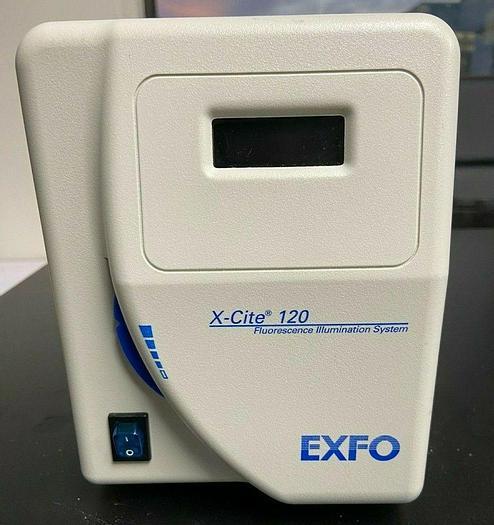 Used EXFO Xl120 X-Cite 120 Fluorescence Illumination System