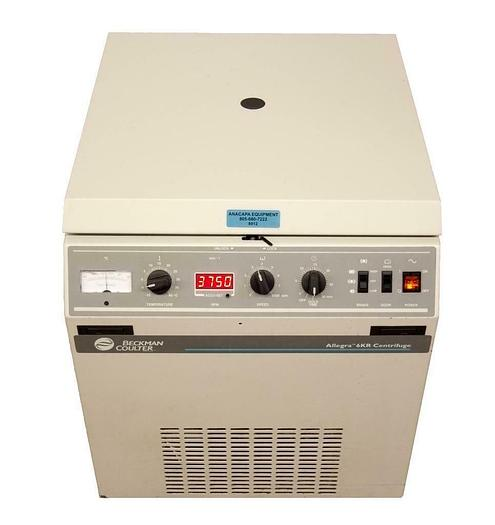 Used Beckman Coulter Allegra 6KR Centrifuge 8000 RPM FOR PARTS (8912)R