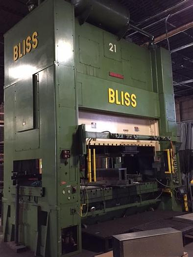 Used 300 TON BLISS SSDC PRESS