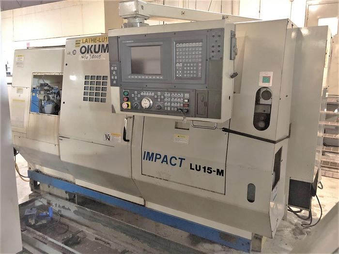 Used 1996 Okuma Impact LU-15M-2SC/600