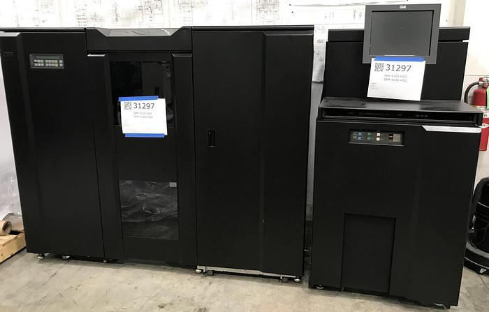 Used 2012 - Ricoh InfoPrint 4100 HS2 Enhanced Simplex Printing System (Pinless - LOW FOOT COUNT)