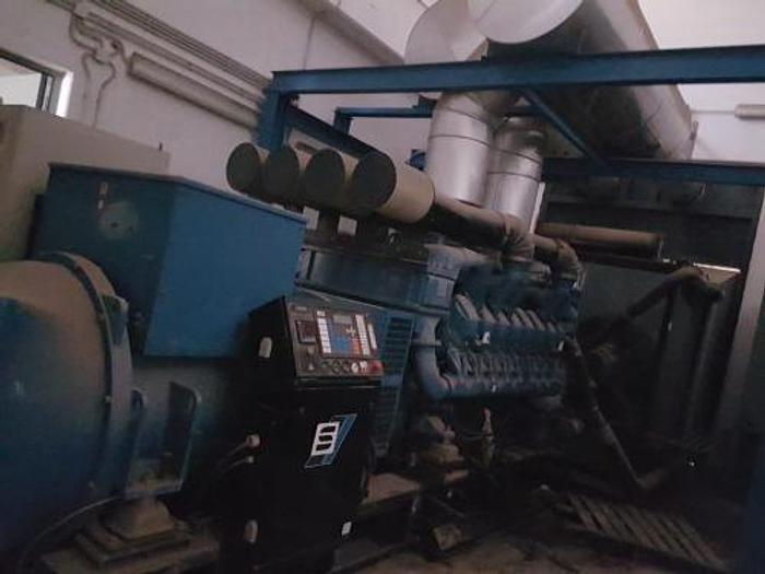 Used 1.24 MW 2006 Used SDMO XS 1550 Diesel Generator