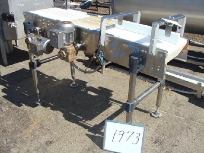 16'' W x 66'' L Intralox Belt Conveyor