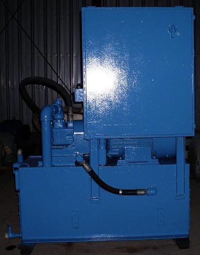 200 Ton Elmes Hydraulic Press; Down-Acting; 4 Post;