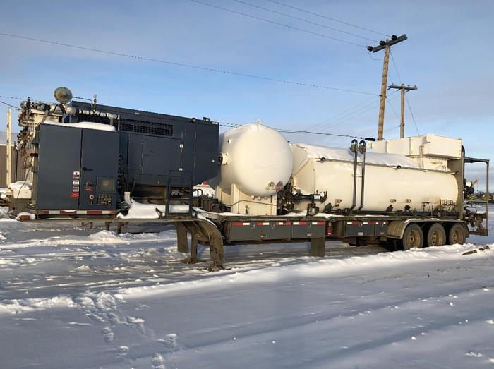 Frac Water Super Heater