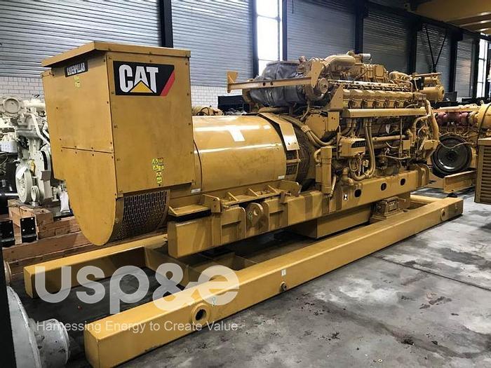 Used 1530 kW Caterpillar 3616B-HD 2009 Diesel Generator 3516B-HD