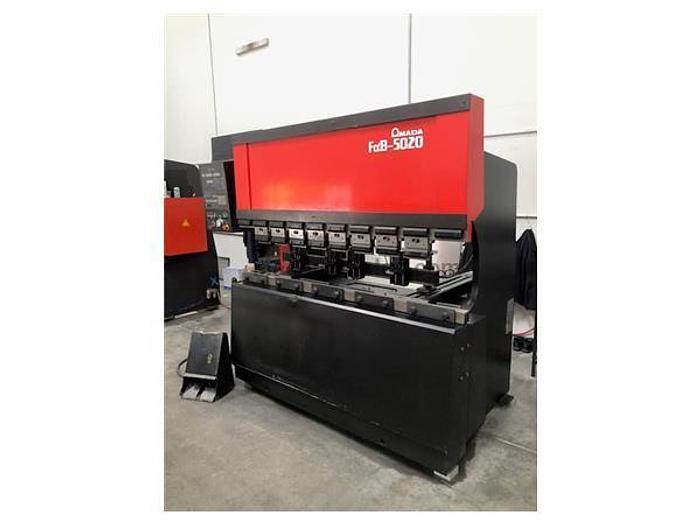 1990 55 Ton Amada FBD-5020 CNC Press Brake