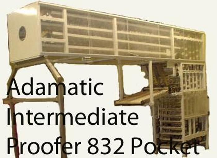 Used USED ADAMATIC OVERHEAD ) INTERMEDIATE PROOFER