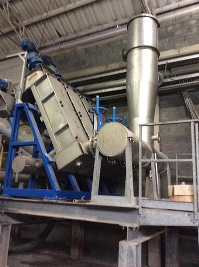 Used 150 TPD RCM HOT DISPERSION PLANT MFG. 2001