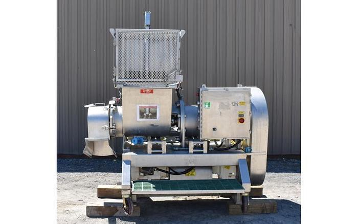 Used USED RIETZ RE-15 EXTRUCTOR / PULVERIZER, STAINLESS STEEL, SANITARY